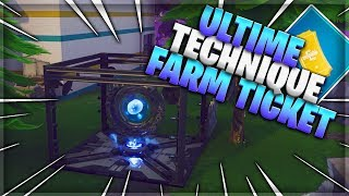 (PATCH) ULTIME TECHNIQUE FARM TICKETS - FORTNITE SAUVER THE WORLD