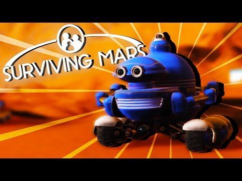Working DRONES and Our FIRST DOME! – Surviving Mars Gameplay