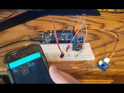 Arduino Mega 2560 with ESP8266 (ESP-01) Wifi, AT Commands and Blynk