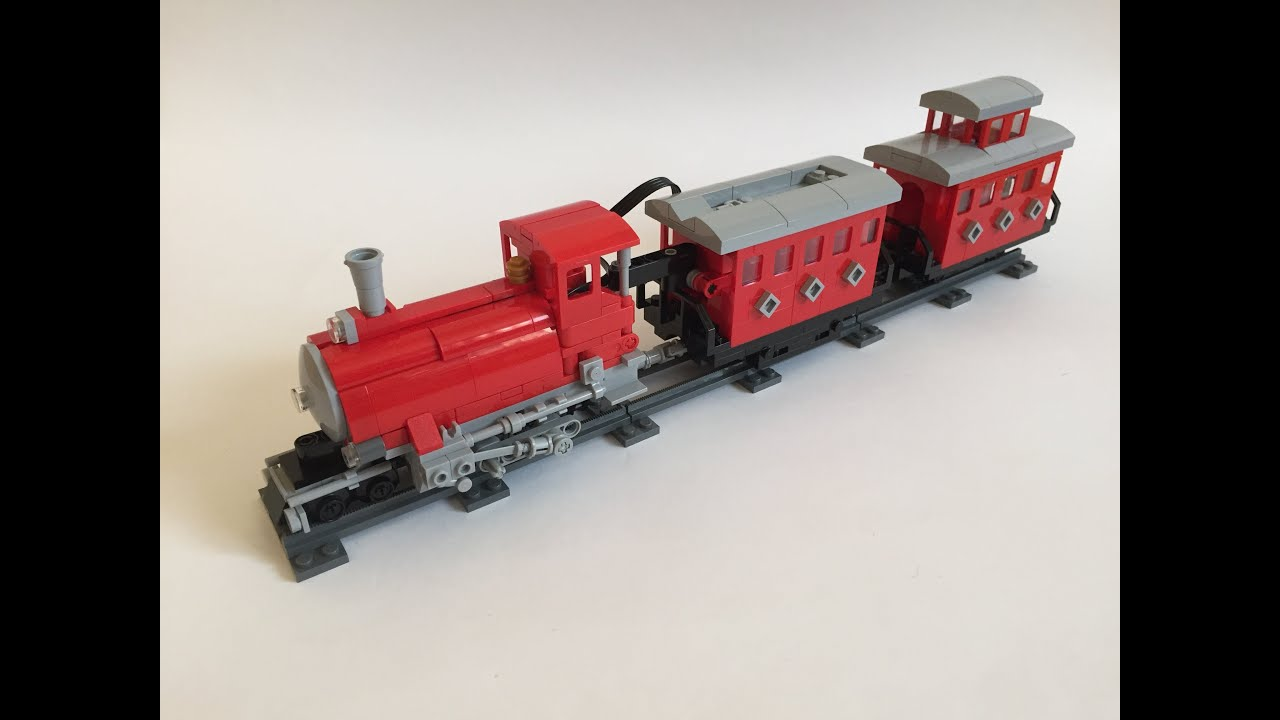 Motorized Lego Narrow Gauge Trains Youtube