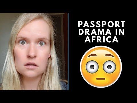Lost Passport In Africa | Kigali, Rwanda Travel Vlog