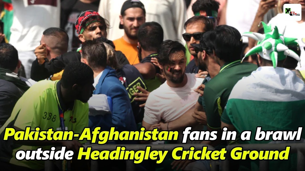 Cricket World Cup: Fan trouble at Pakistan v Afghanistan at Headingley