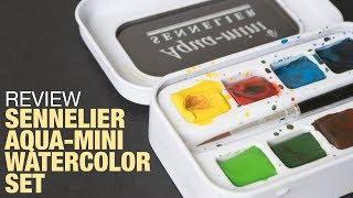 Review: Sennelier Aqua-Mini Watercolor Set