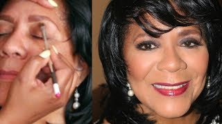 Makeup for women over 60 (mother in law)   Darbie Day MUA