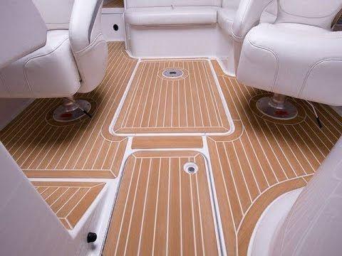 synthetic marine vinyl flooring for boat - youtube