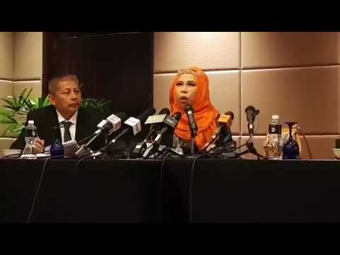 Sidang Media Isu Berlian Palsu Dato Seri Vida
