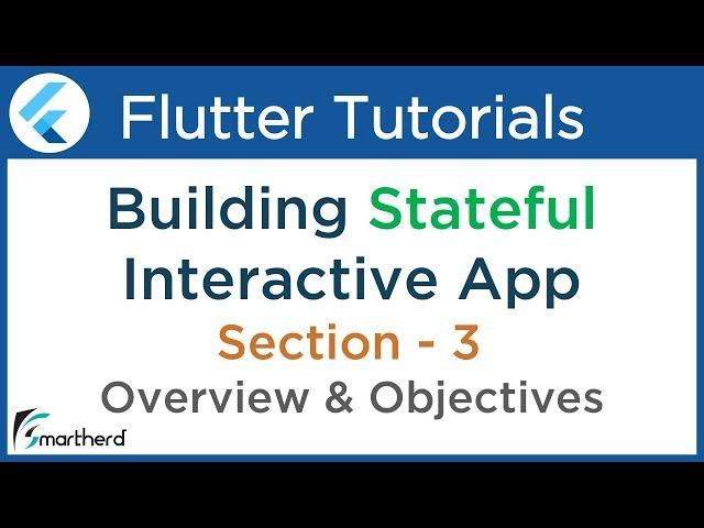 #3.1 Flutter Tutorial for Beginners with Dart: Building Complete app using Stateful Widget