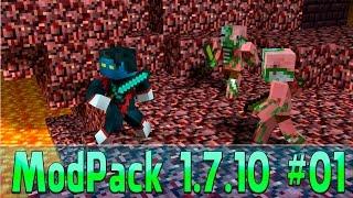 ModPack 1.7.10 #01 - Um modpack voltado mais para aventura