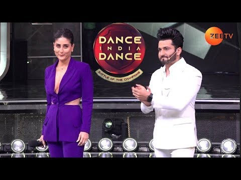Kareena Kapoor Launching Zee TV Reality DID Battle Of The Champion Show  | Raftaar, Bosco