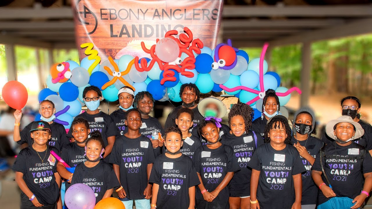 Ebony Anglers Youth Camp Day One