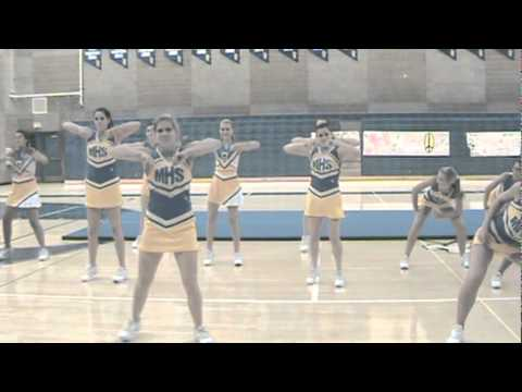 Moapa Valley High School Cheerleaders