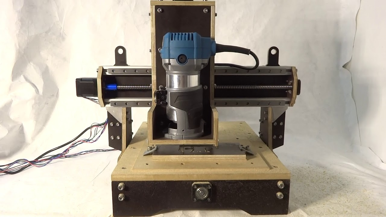 German EE Student Makes Low-Cost CNC Mill - Hackster Blog