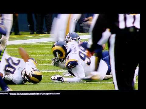 LaMarcus Joyner vs nick Fairley helmet collision