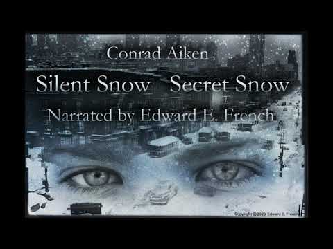 Silent Snow Secret Snow by Conrad Aiken Narrated by Edward E. French