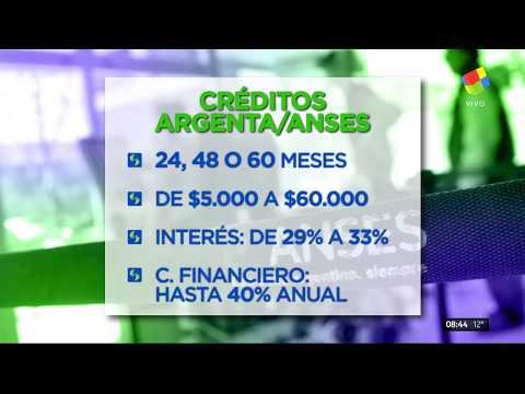 Nuevos créditos para jubilados de $60 mil pesos