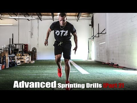 Advanced Sprinting Drills [Part 2] | Overtime Athletes