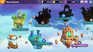 FLOATING ISLANDS in the SKY!? Skylanders™ Ring of Heroes FIRST LOOK!