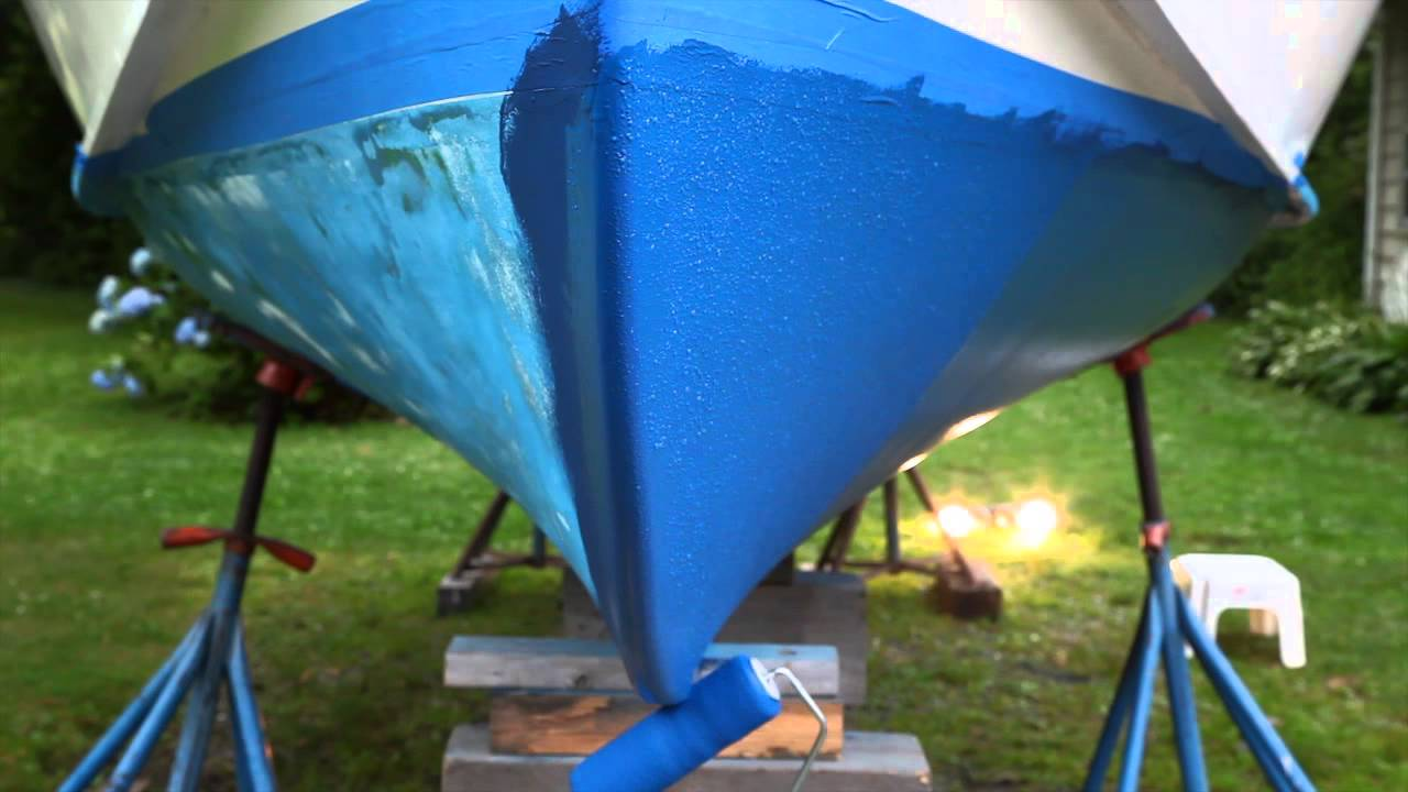Agree, tricks to boat bottom painting opinion