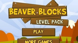 Beaver Blocks Level1-24 Walkthrough