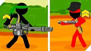 ВОЙНА СТИКМЕНОВ продолжается - Stickman Army : Team Battle # 2