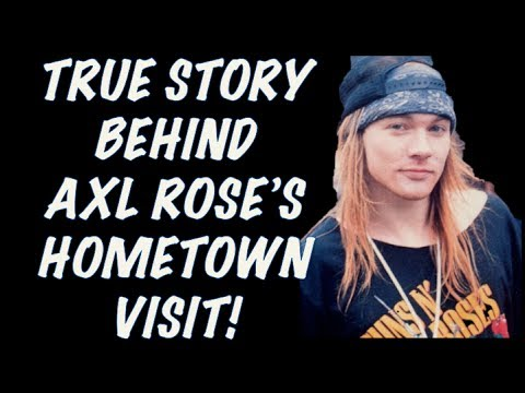 Guns N' Roses: The True Story Behind Axl's Hometown Visit For Favourite Pizza!