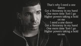 Drake One Dance Lyrics ft WizKid & Kyla