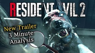 Resident Evil 2 Remake Story Trailer | 3 Minute Analysis & Examination