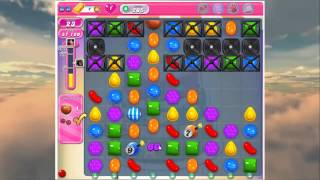 Candy Crush - How To Beat Level 205 in Candy Crush Walkthrough Saga - No Boosts - Score 137,100