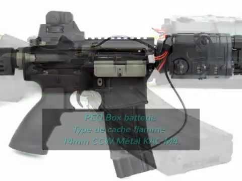 airshop gun airsoft aeg r52 métal cqb r assault fusil ebb noir