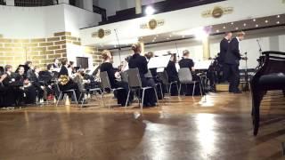 1.video. Latviešu mūzikas koncerts.LU pūtēju orķestris.02.11.2013. Rīga LU lielajā aulā. mob.video.