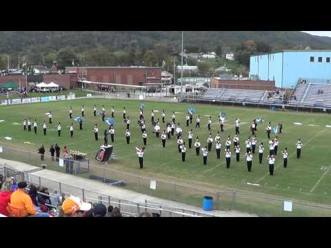 Morristown East High School Marching Band Oct 18th 2014 at Harriman