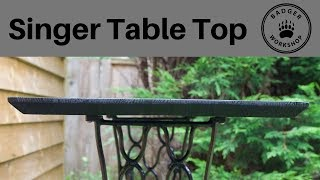 Singer Table Top