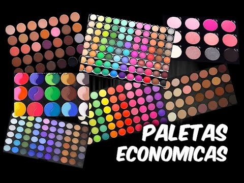PALETAS DE MAQUILLAJE ECONOMICAS
