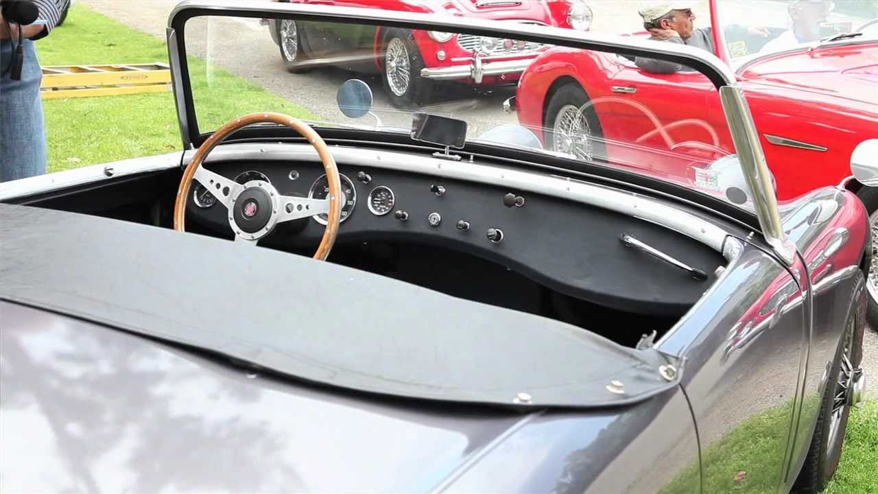 Austin Healey Association of Southern California visits Moss Motors