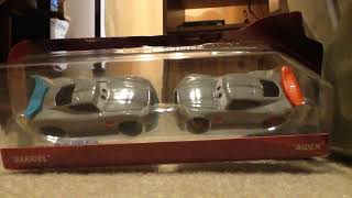 """Disney cars """"Gabriel"""" and """"Adiden"""" review"""