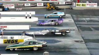 Drag Race - 4 Jet Cars In One Race