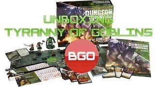 Unboxing Dungeon Command - Tyranny of Goblins (Português)