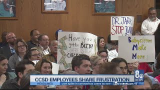 CCSD employees share payroll frustrations at board meeting screenshot 3