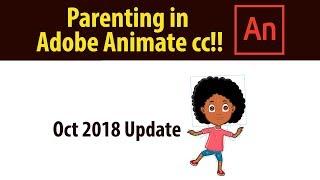 Crianza de los hijos en Adobe Animate cc de octubre de 2018 actualización por fin!