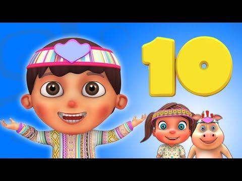 Ten Little Indian Boys   Kindergarten Nursery Rhyme for Children   Song for Kids by Little Treehouse