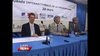Lao NEWS on LNTV: The programme for Francophonie Month celebration announces .17/3/2015