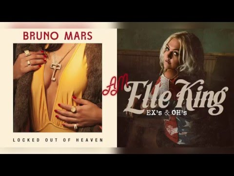 Bruno Mars x Elle King - Out of Ex's & Oh's (Mashup)