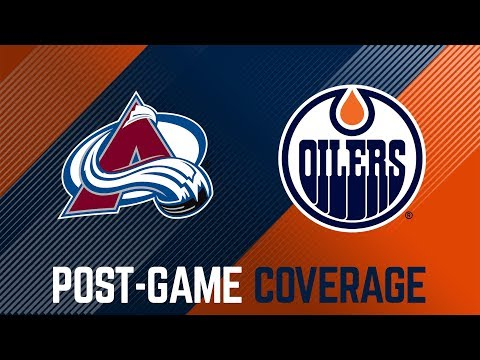 ARCHIVE | Post-Game Coverage – Oilers vs. Avalanche