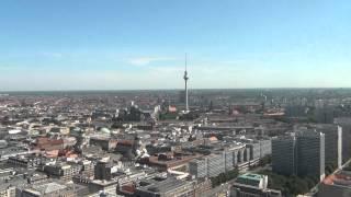 Берлин с высоты птичьего полёта