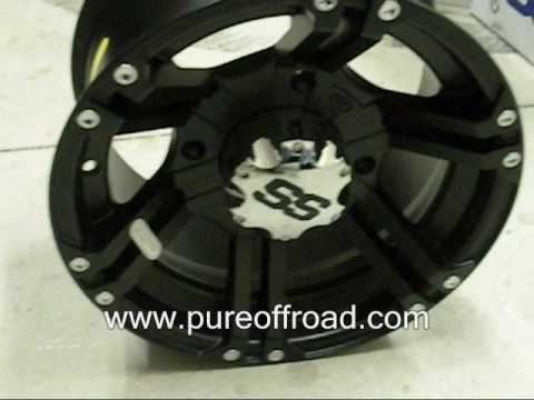 ITP SS212 ATV Wheels, Black