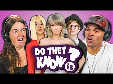 DO PARENTS KNOW MODERN MUSIC? #10 (REACT: Do They Know It?)