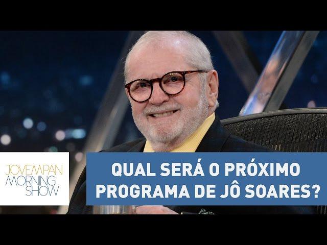 Bancada do Morning Show discute qual será o próximo programa de Jô Soares | Morning Show