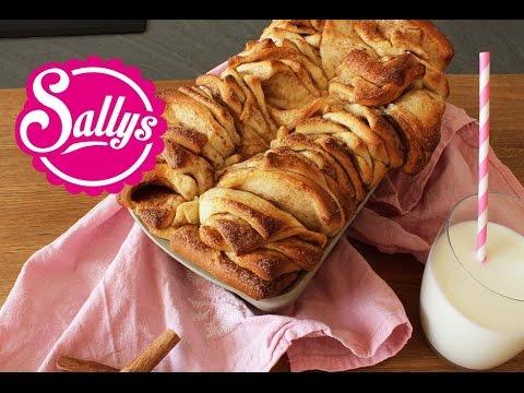 Elephant Ear Bread - Zimt-Zupfkuchen / Pull Apart Bread / Sallys Welt