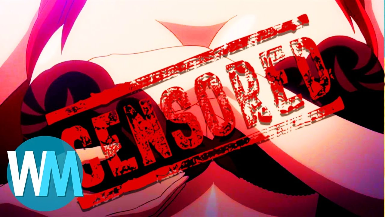 Top 10 Worst Censorships in Anime