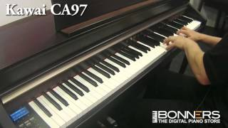 Yamaha CLP585 vs Roland LX17 vs Kawai CA97 Digital Piano Comparison Demo